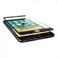 ELECOMPM-A17LFLGFMRB iPhone 8 Plus用フルカバーガラスフィルム/反射防止/フレーム付