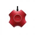 ARCHISSTRIX Red デザインタップ USB2Port 出力2.1A + AC3口