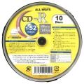 ALL-WAYSAL-CR10P CD-R 52倍速 10枚スピンドル プリンタブル