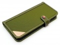 LIM'S DESIGN LE-IP6CDOG iPhone 6s/6用ケース INNOVATIVE MATERIAL EDITION Olive Green