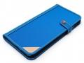 LIM'S DESIGNLE-IP6PCDBL iPhone 6s Plus/6 Plus用ケース PREMIUM LEATHER POUCH Blue