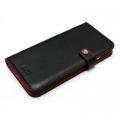 LIM'S DESIGNLE-IP6BDBK iPhone 6s/6用ケース Baby Calf Leather Diary Edition ブラック