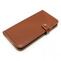 LIM'S DESIGNLE-IP6BDBR iPhone 6s/6用ケース Baby Calf Leather Diary Edition ブラウン
