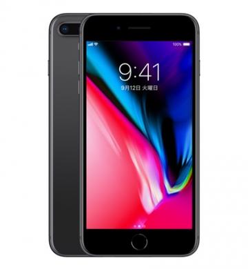 Apple【整備済製品】iPhone 8 Plus 256GB スペースグレイ (国内版SIMロックフリー) NQ9N2J/A